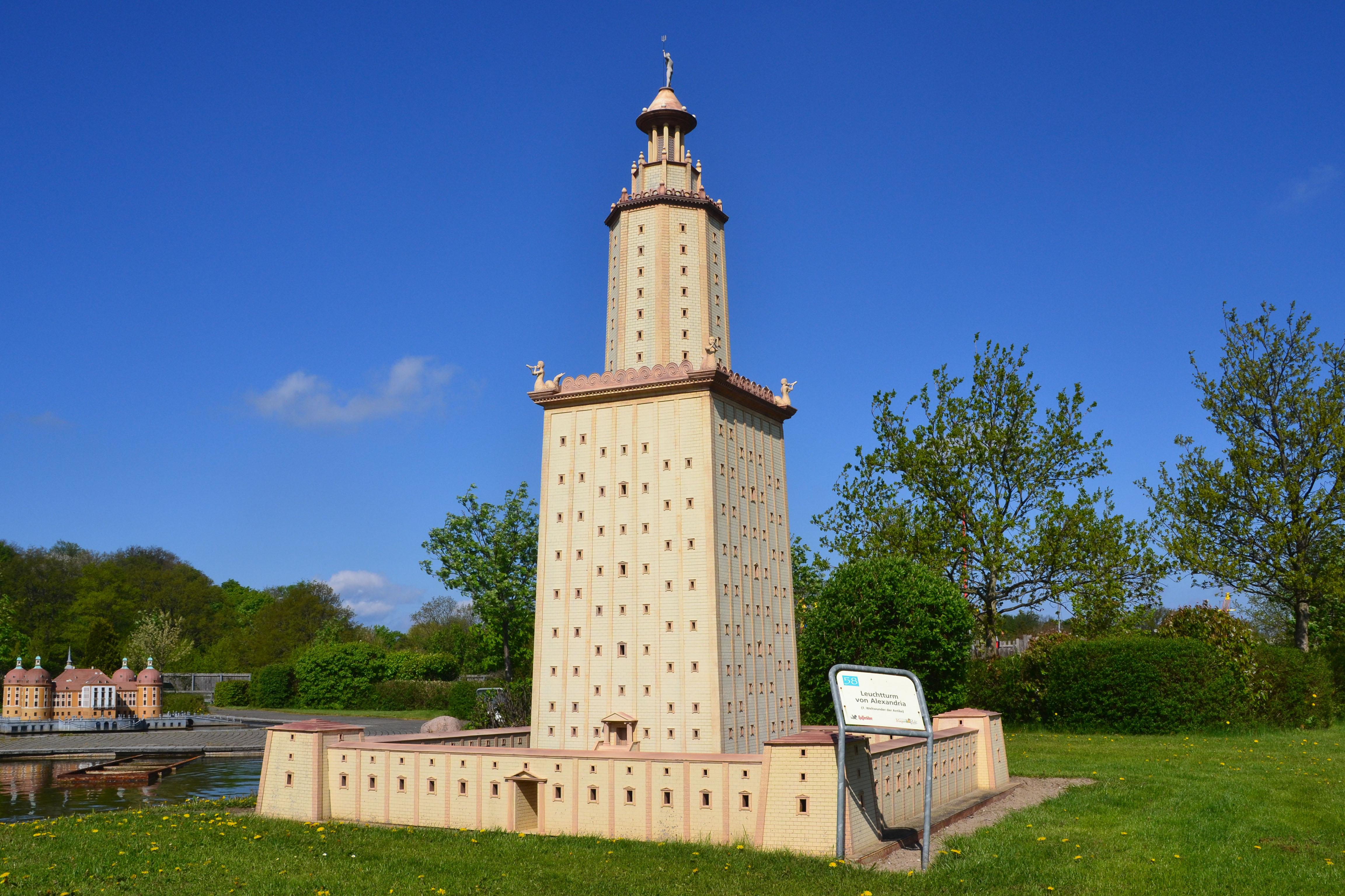 großen leuchtturms von alexandria